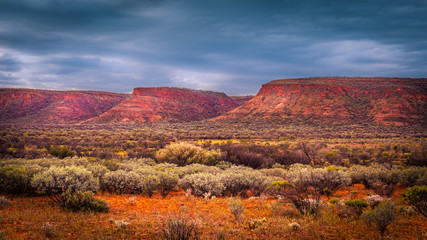 Scenic view of the Watarrka National Park, Central Australia, Northern Territory, Australia