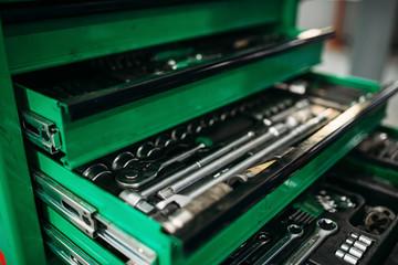 Car service tool box, professional instrument