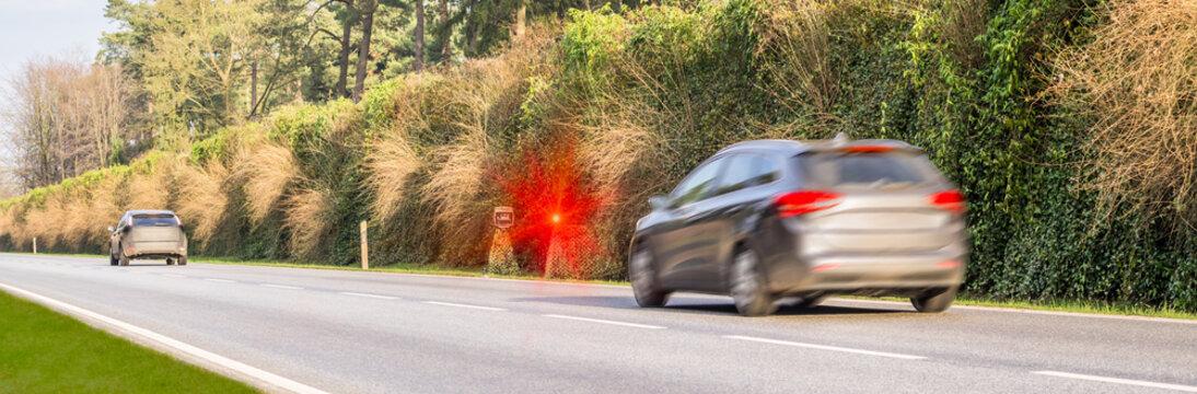 Geblitzt Radarkontrolle Geschwindigkeitsüberschreitung Blitzer abzocke abgezockt