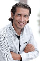 portrait of a successful man