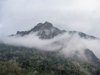 Mountain near nong Khiaw