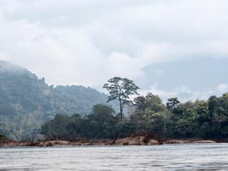 landscape at Nam Ou river
