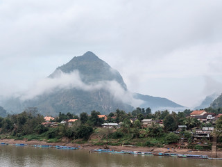 View of Nong Khiaw