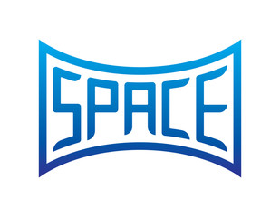 space word special form, space word different form illustration vector
