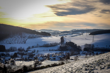 Winter im Sauerland
