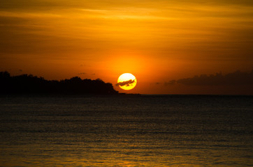 Sundown on Bali / Indonesia