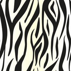 Animal print, zebra texture background black and white colors