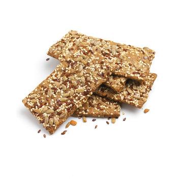 Rye flatbread crackers