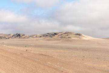 Beautiful view, Skeleton Coast Park, Namibia.