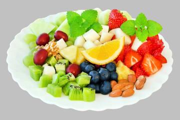 Obstsalat    -    Fruits Salad