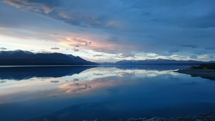 Dawn at Mt. Cook New Zealand