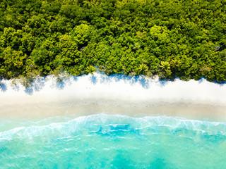 Cape Tribulation beach aerial photo