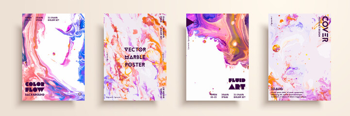 Fototapete - Artistic covers design. Liquid marble texture. Creative fluid colors backgrounds. Applicable for design covers, presentation, invitation, flyers, annual reports, posters and business cards.