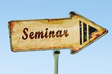 Schild 328 - Seminar