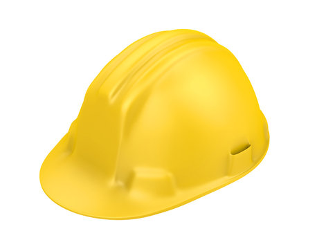 Safety Helmet Isolated