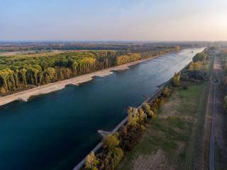 rhine germersheim historical drought