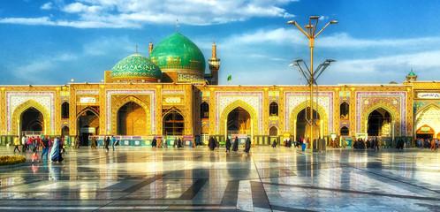 Holy Shrine of Imam Reza in Mashhad