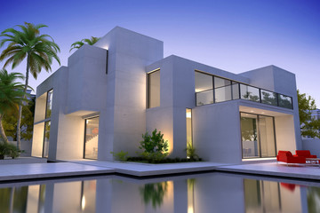 Beautiful modern luxurious house