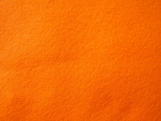 Orange felt background, orange texture