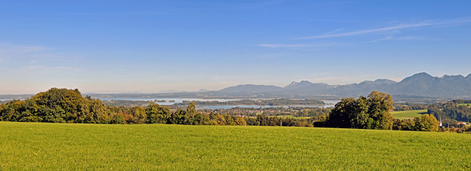 Chiemsee and Landscape - Bavaria