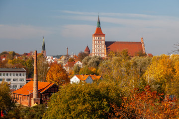 Katedra, Zamek i Kościół Garnizonowy - Olsztyn