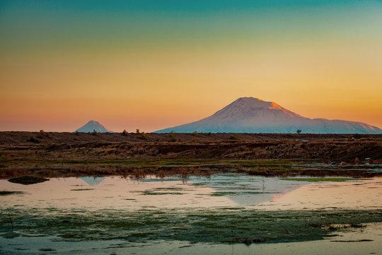 mount Ararat in Armenia