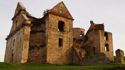 Photo sur Aluminium Ruine Ruiny klasztoru w Zagórzu