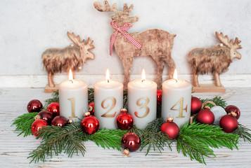 Weihnachtsgesteck Advent