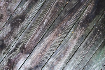 Rustic aged weathered wood background full frame