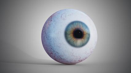 3D rendered illustration of eyeball.