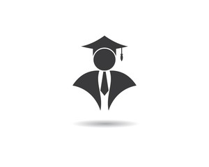 Education logo illustration