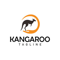 kangaroo logo concept