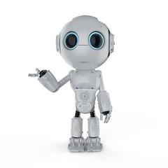 mini robot open hand