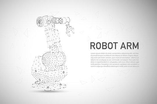 Polygonal robotic arm