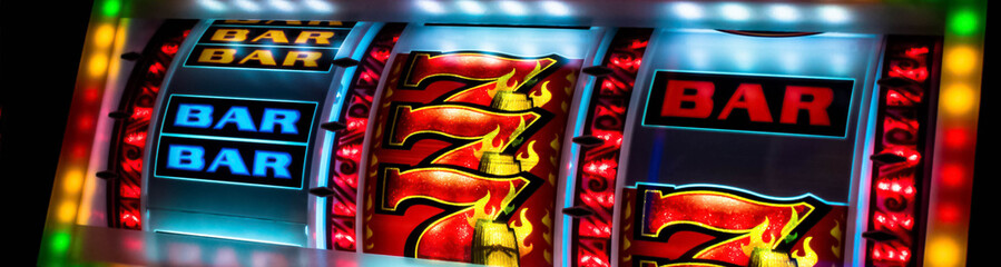 Casino slot machine display