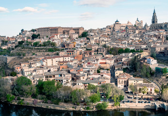 Toledo surrounded by the Targus river