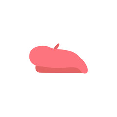 Beret color icon. Element of color clothes icon for mobile concept and web apps. Detailed Beret icon can be used for web and mobile