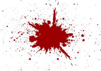 vector blood splatter isolated design. illustration vector design