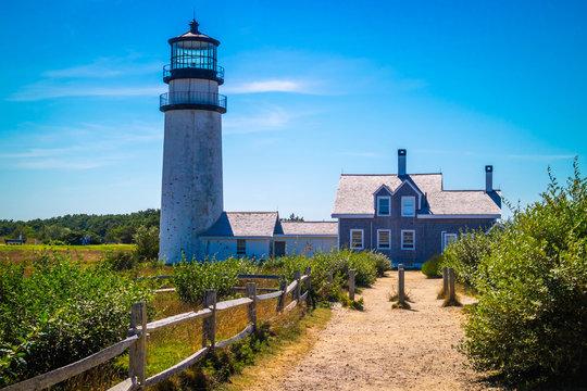 The Highland Light in Cape Cod National Seashore, Massachusetts