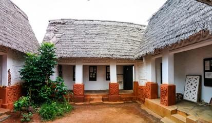 View to Besease Traditional Asante Shrine at,Ejisu, Kumasi, Ghana