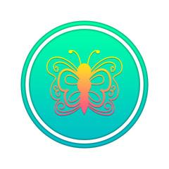 иконка бабочка
