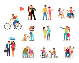 Romantic relationships of disabled people