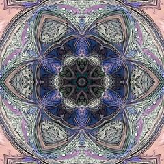 lotus star ornamental arabesque mandala