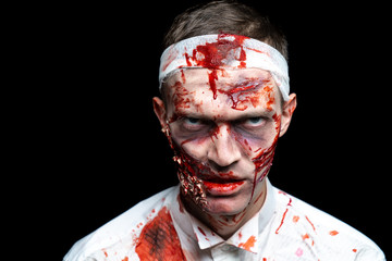 zombie horror make up