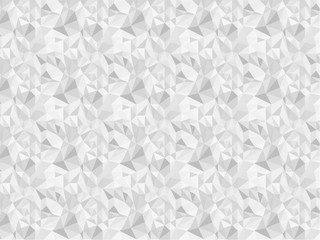 Abstract ice triangle monochrome seamless pattern background