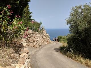 Wandern an der Italienischen Küste