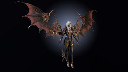 Vampire Beautiful Woman