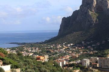 Fototapeta Veduta di una borgata di Palermo- Sicilia- talia obraz