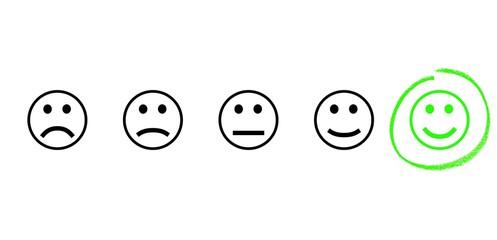 Gute positive Bewertung - Lob