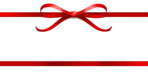 rote Schleife Sterne Geschenkband